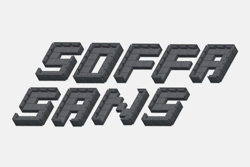 IKEA's SOFFA SANS Font Created by Custom Couches twitter response user sofa