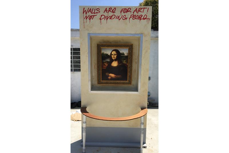 isaac pelayo street art intervention gagosian beverly hills