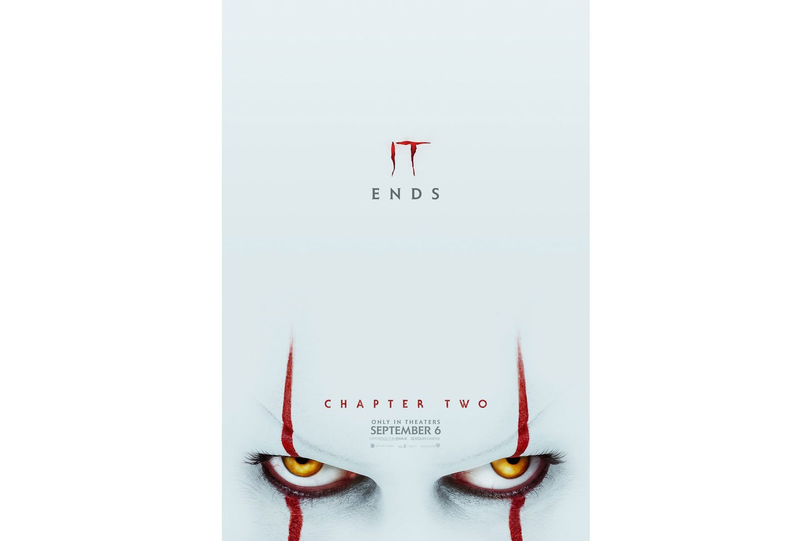 'IT: Chapter 2' Drops Second Trailer movies films pennywise stephen king the losers club Pennywise poster evil clown