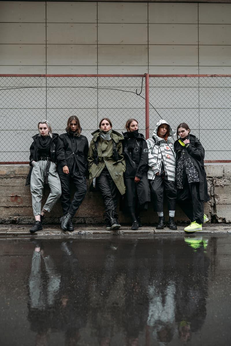 'items.' Magazine Nike ACG Womenswear Editorial errolson hugh tribute clothing sneakers footwear techwear russia