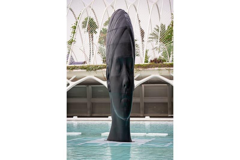 jaume plensa valencia sculptures artworks installations