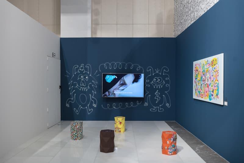 jon burgerman fun factory m contemporary seoul south korea drawings illustrations installations artworks