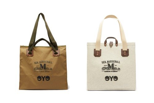 Junya Watanabe MAN & Seil Marschall Collaborate on Printed Tote Bag Set