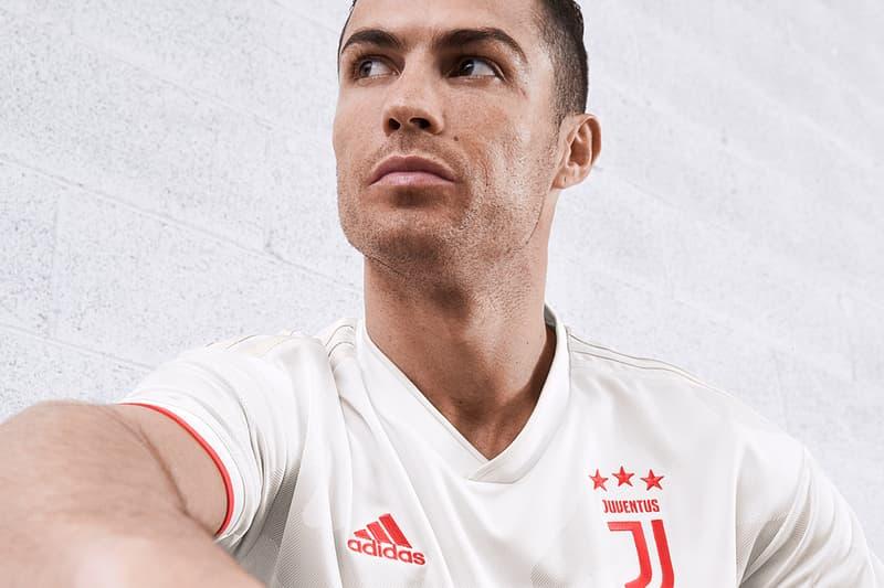 adidas Football Juventus Away Kit 2019/20 Cristiano Ronaldo Rodrigo Bentancur Eniola Aluko Paulo Dybala Aaron Ramsey