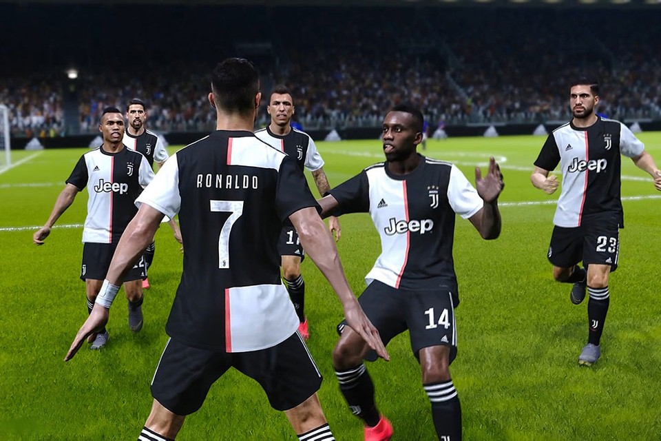 eFootball PES 2020' Signs Exclusive Deal With Juventus