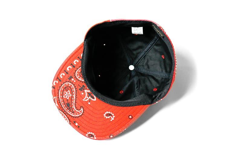 Kapital Bandana Patchwork Baseball Cap Red Smiley face blue black green japan buy release date info