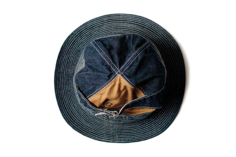 Kapital 'Old Man and the Sea' Inspired Bucket Hats Denim pants jeans distressed darning repair japanese fashion americana ernest hemingway