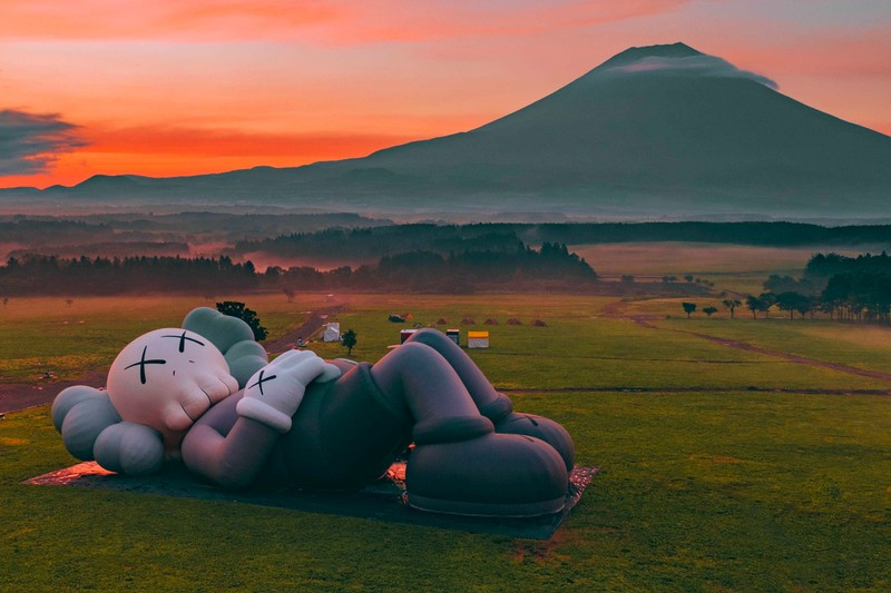 'KAWS:HOLIDAY' Makes Its Way to Mount Fuji for Large-Scale Outdoor Exhibition