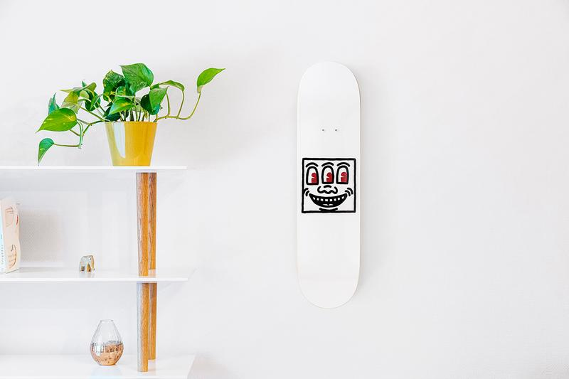 The Skateroom Keith Haring Skateboard Decks Art Collection 10 Corso Como New York Release Information Cop Works Designs Pop Art Graffiti Drawings Characters NY USA Editions