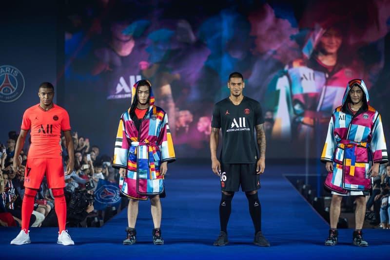 Koche Turns Psg S Football Kit Into Boxing Robes Hypebeast