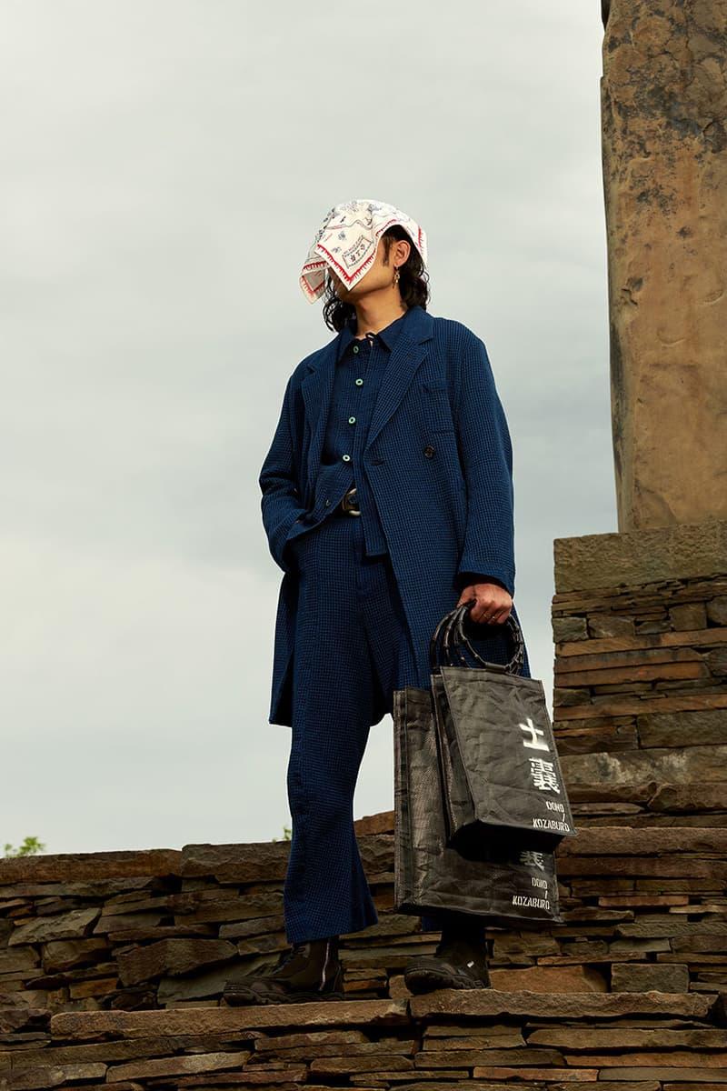 kozaburo spring summer 2020 menswear lookbook tokyo brooklyn japan new york akasaka