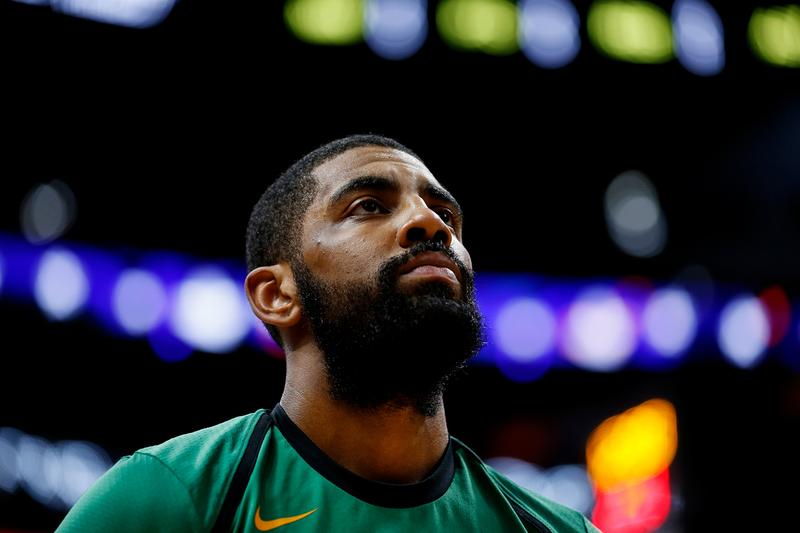 kyrie irving confirms announces brooklyn nets move jay z jayz public service announcement song video instagram
