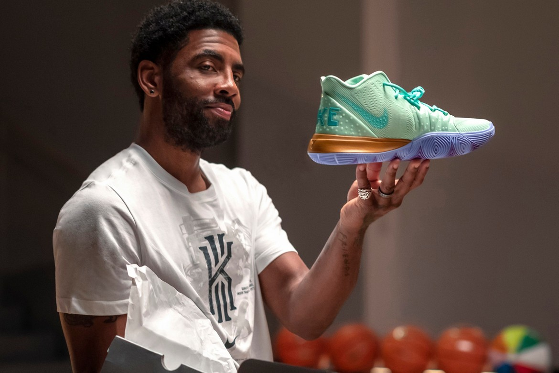Nike Kyrie Irving 'Spongebob Squarepants' Collab | HYPEBEAST