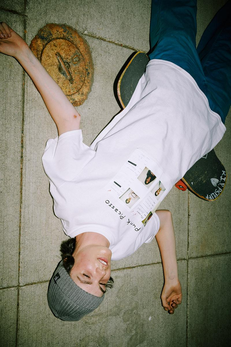 Larry Clark F-FLAGSTUF-F 2019 Capsule Collection kids tulsa bully youth angst delinquent filmmaker irreverent 90s Japanese graphics tokyo streetwear Punk Picasso Art book