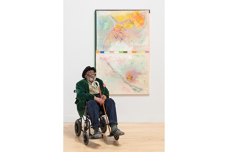 """Late at Tate Britain: """"Passage"""" Frank Bowling Augmented Reality Exhibition Eight AR Filters Animated Paintings Displays Smartphones UK London Gallery"""
