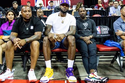 LeBron James Previews Lakers-Themed Nike LeBron 3s