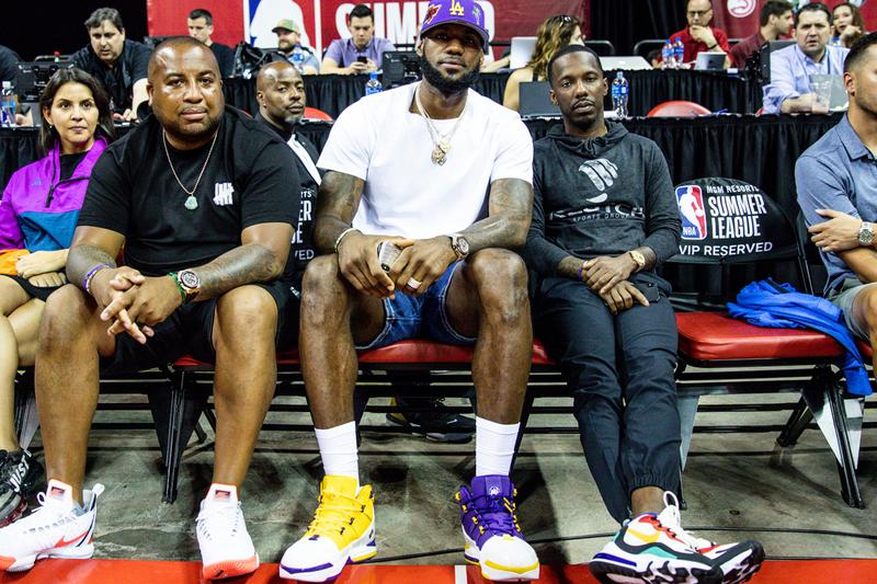 LeBron James Previews Nike LeBron 3 Lakers PE los angeles nba summer league zoom chunky technical plush sphere alternating colors purple yellow king