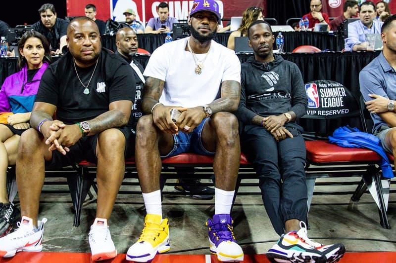 Lebron James Previews Nike Lebron 3 Lakers Pe Hypebeast