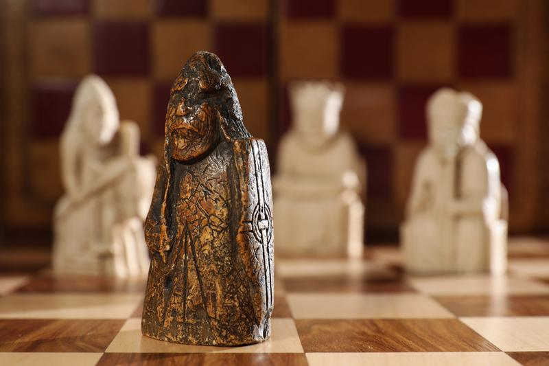 Lewis Chessmen Rook Piece Sold for 1 Million Warder Sothebys Auction Rare Basement Find
