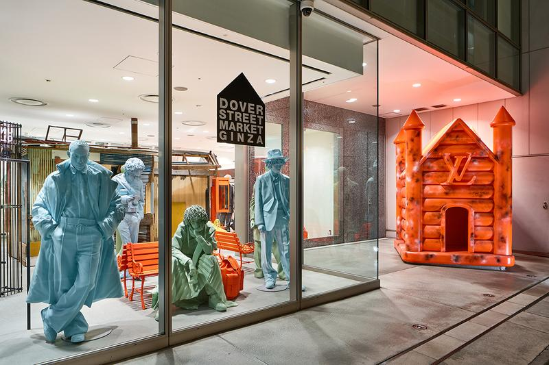 Louis Vuitton Fall/Winter 2019 Pop-Up at DSMG dover street market ginza fw19 lv virgil abloh inside look collection july