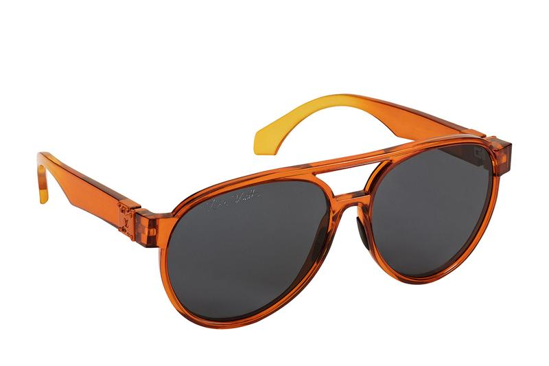 Louis Vuitton LV Rainbow Sunglasses Virgil Abloh Pilot Square Spring Summer 2019 Paris Accessories Shades Eyewear Lens temple