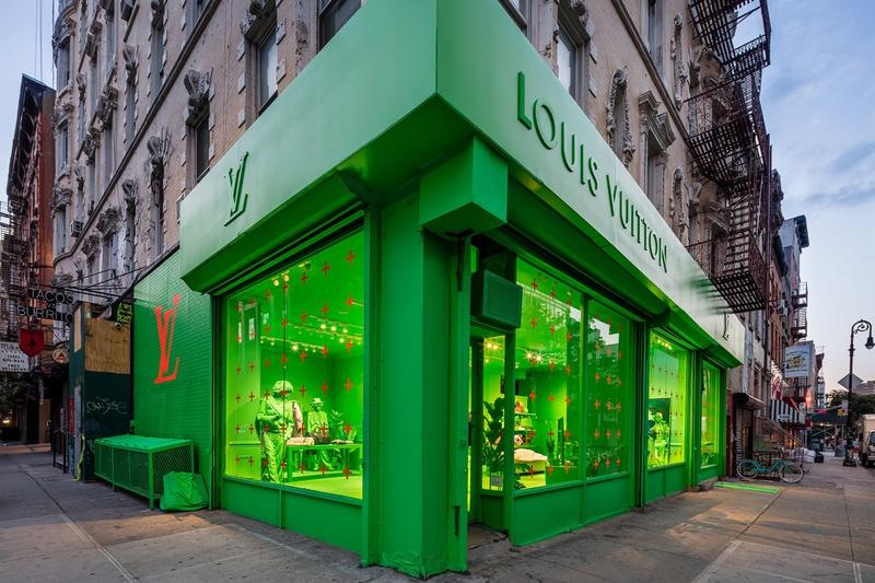 louis vuitton fall winter 2019 collection new york residency pop up store temporary location virgil abloh mens artistic director