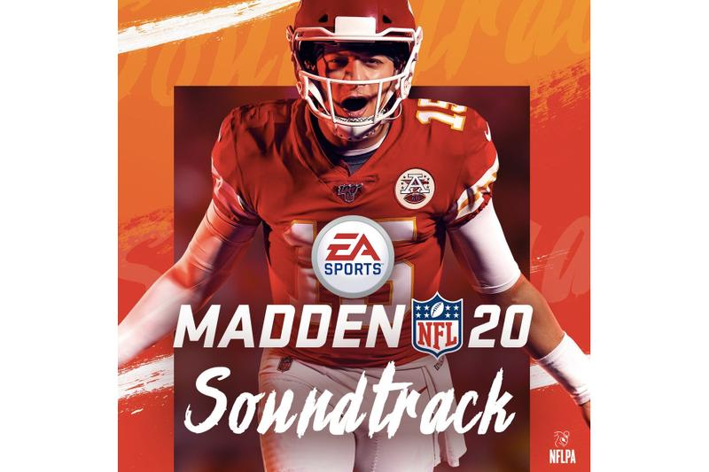Madden NFL 20 Sountrack Stream hip-hop rap edm soundtrack albums spotify apple music stream denzel curry jay park hit-boy lil skies dj shadow de la soul saweetie wiz khalifa jay critch joey badass bada$$ p-lo desiigner yella beazy rico nasty stro dave east THEY. Dillon francis token
