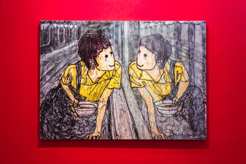 madsaki perrotin hong kong solo exhibition paintings artworks shows