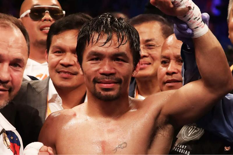 Manny Pacquiao Defeats Keith Thurman for Welterweight Title WBA Boxing Sports
