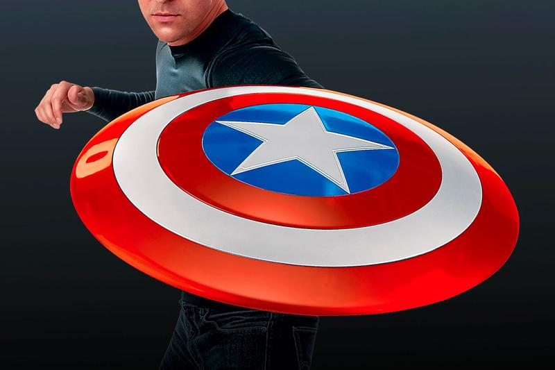Marvel 80th Anniversary Captain America Shield full size scale cinematic universe chris evans steve rogers hasbro toys replica collectibles