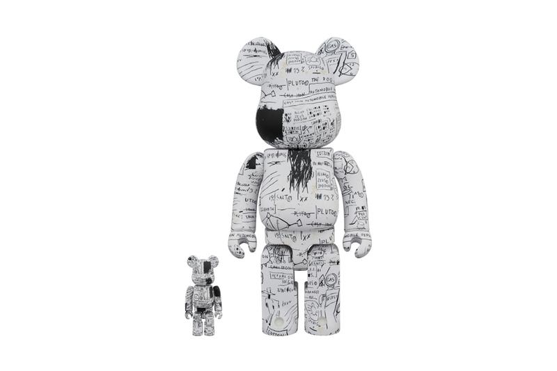 Medicom Toy x Jean-Michel Basquiat BE@RBRICK #3 drop date buy now 100% 400% 1000% collectible figurine