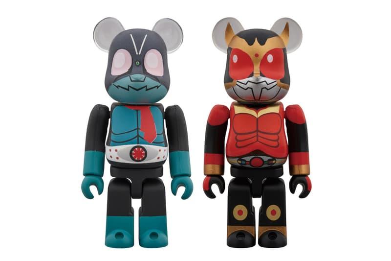 Medicom Toy Unveils 'Kamen Rider' BE@RBRICK Pack