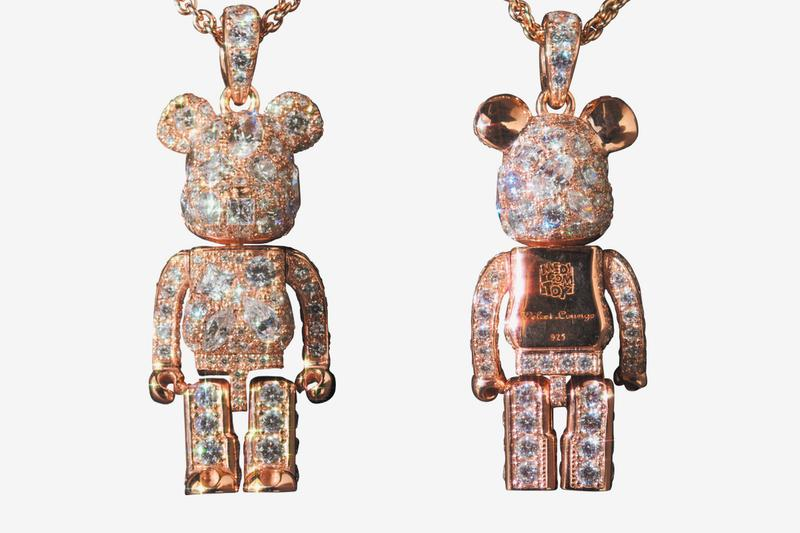 """Medicom Toy Unveils STARDUST BE@RBRICK Pendant in """"Pink Gold"""""""