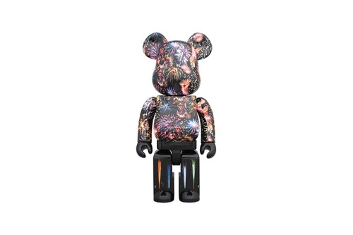Medicom Toy Releases Colorful BE@RBRICK Decorated With Images of Fireworks