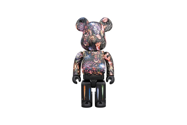 b1d0f576 Medicom Toy Releases Colorful BE@RBRICK Decorated With Images of Fireworks