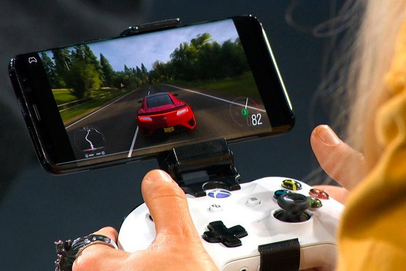 Microsoft Project xCloud Xbox Controller Prototype Phone Tablet iPhone iPad iOS patent mobile games