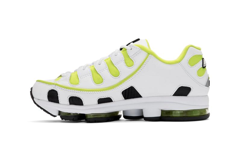 MSGM x Fila Edition Silva Trainer Sneakers Release Information Black Red White Neon Yellow Ripstop Faux Leather Faux Suede 3M Reflective Tonal Trim 2A Technology