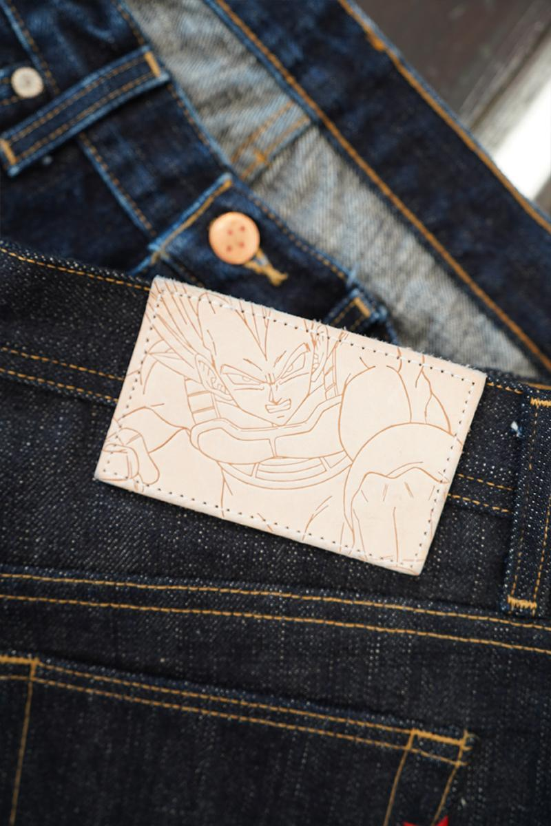 Naked and Famous Denim Dragon Ball Z Vegeta Jeans Release Teaser First Look Preview Information Cop Capsule Collection Super Saiyan Selvedge Raw