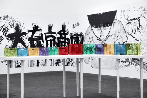 "A Look Inside nana-nana's ""AKIRA ART WALL PROJECT"" Collaborative Exhibition"