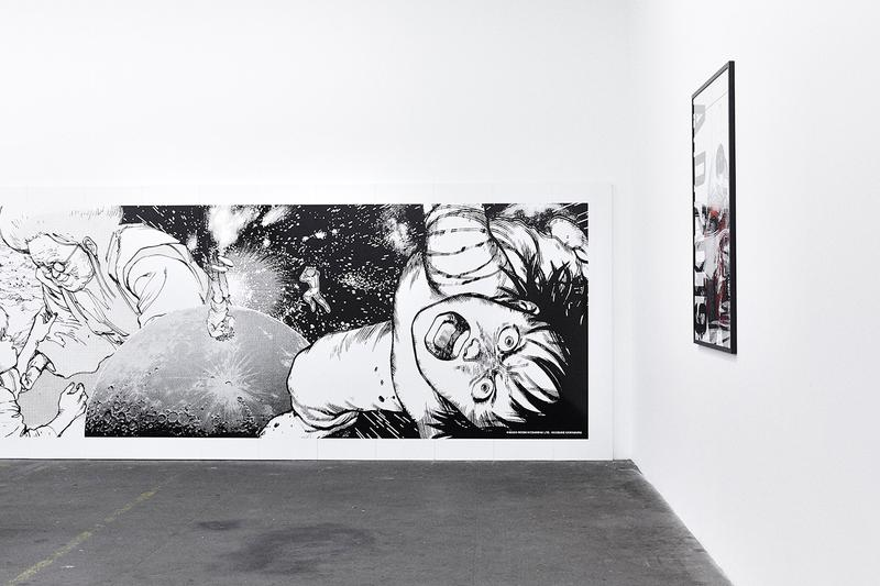 nana-nana x AKIRA ART WALL x Kosuke Kawamura Collaboration Bags A5 B6 PVC Exhibition First Look Inside Close Up Manga Anime Artwork Series