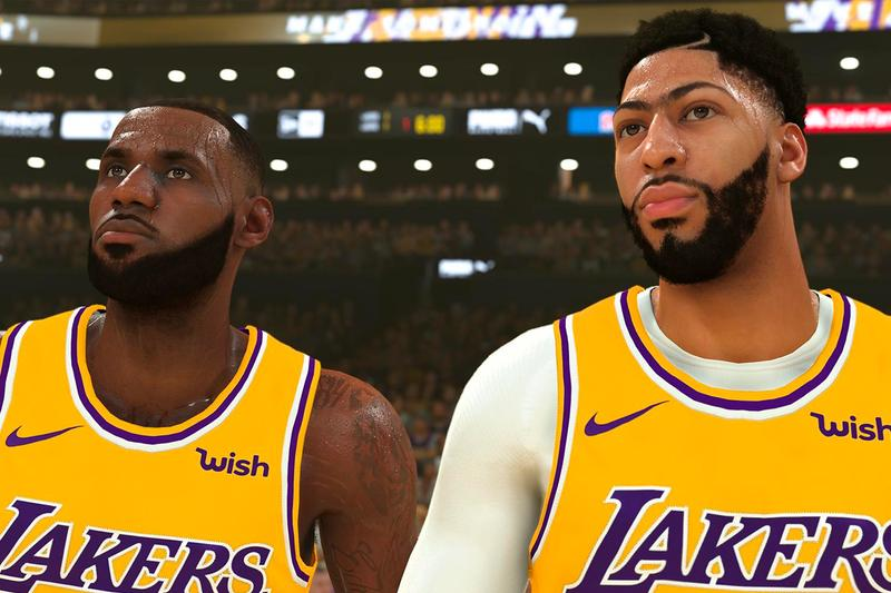 NBA 2K20 Reveals First Look lebron james anthony davis jimmy butler national basketball assocation los angeles lakers miami heat kemba walker boston celtics karl-anthony townes minnesota timberwolves