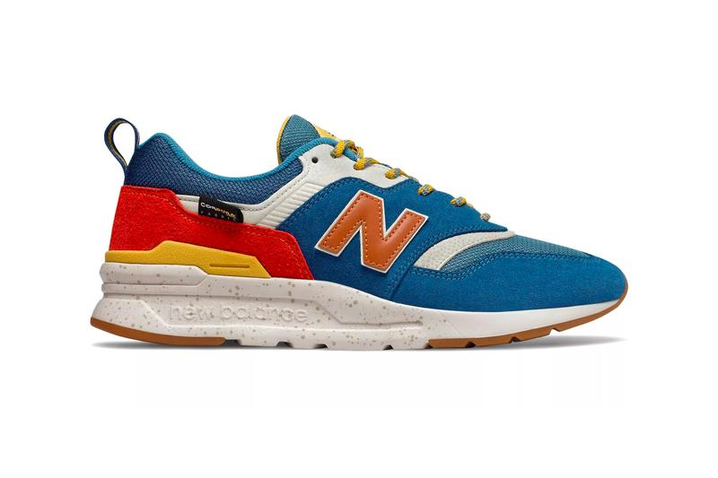 New Balance 997H Incense Moroccan Tile cordura fabric blue varsity orange rifle green sulphur yellow release sneaker footwear american textiles progressive technical rugged mesh leather suede nubuck