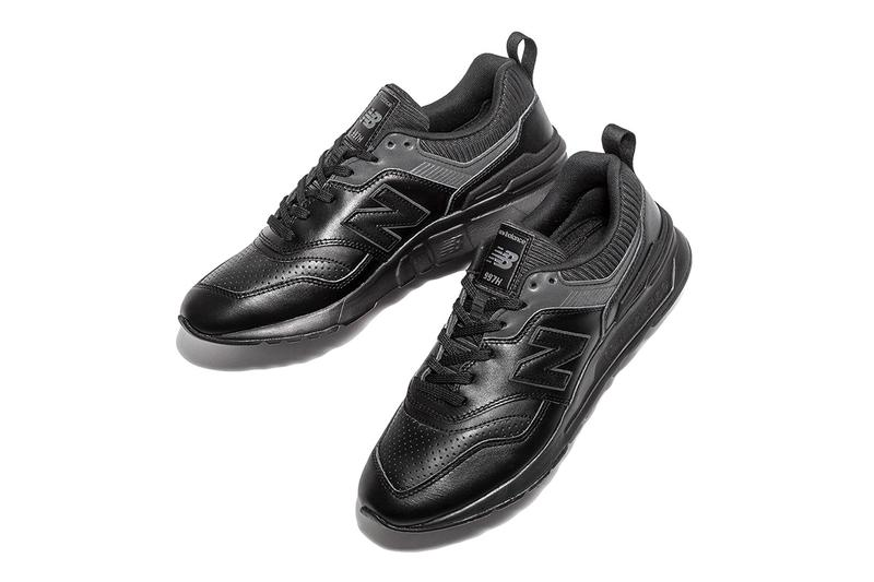 BEAUTY & YOUTH New Balance Leather Pack Gray Black sneakers kicks footwear Made in USA trainers