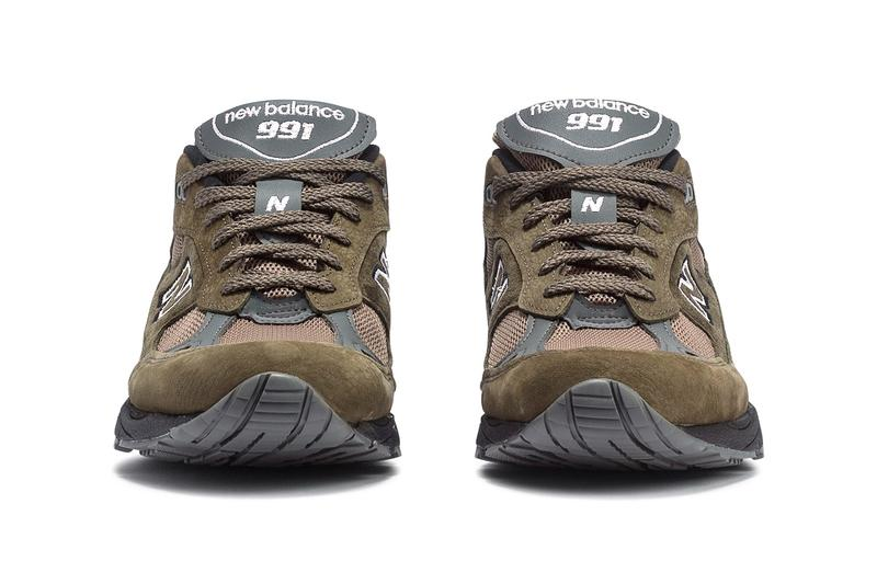 New Balance M991FDS Made in England Olive Tan Release Buy info Date