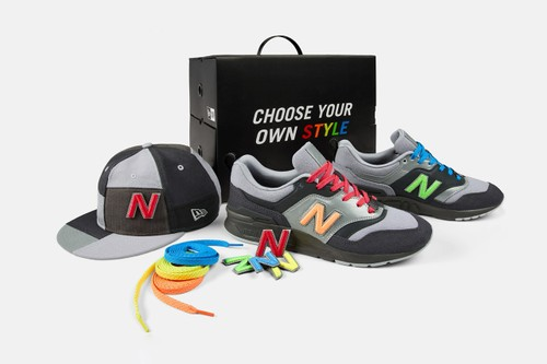 New Era and New Balance Drop 997 With Removable Logos