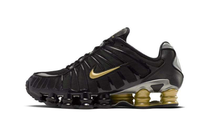 0d3352b1774467 Neymar x Nike Shox TL Black Gold Release Info paris saint germain football  soccer sneakers shoes