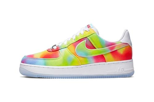 Nike's Air Force 1 '07 Premium Goes Tie-Dye Crazy