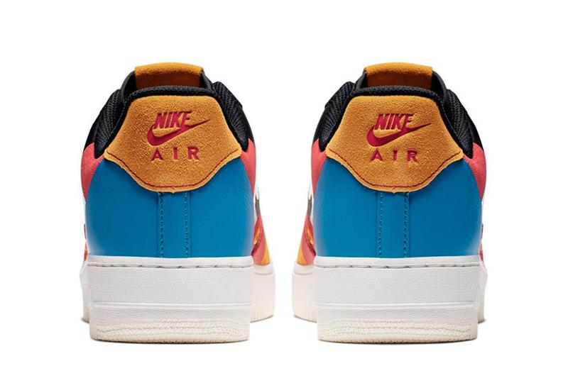Nike AIR FORCE 1 '07 PRM 1-CI0065-101 Release colorblocked sneakers tennis footwear shoes trainers