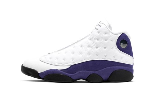 Jordan Brand Pays Homage to the LA Lakers with Latest Air Jordan 13
