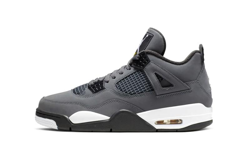 "Air Jordan 4 ""Cool Grey"" 2019 Now on StockX Air Jordan 4 Cool Grey Release date 30th anniversary basketball jbrand michael jordan 2004 release suede tonal black and white midsole air unit bubbles sneakers aj4"